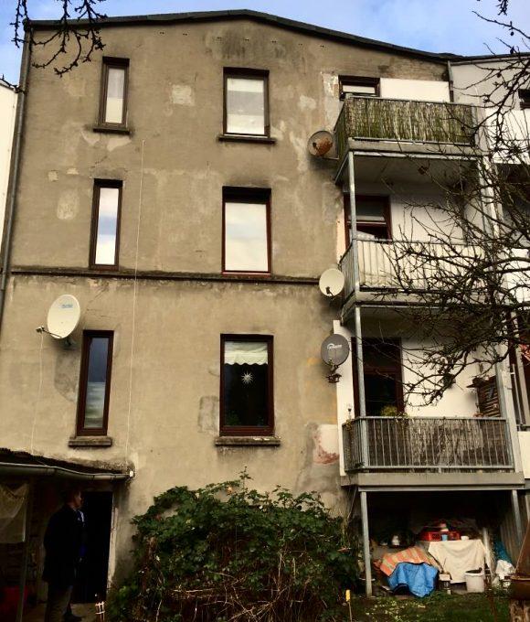 Balkone vor Sanierung